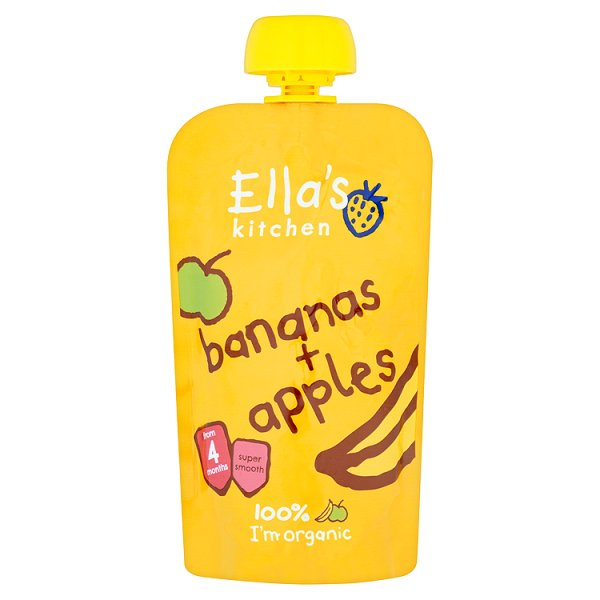 ELLASKIT ORGANIC APPLE/BANANA 4M