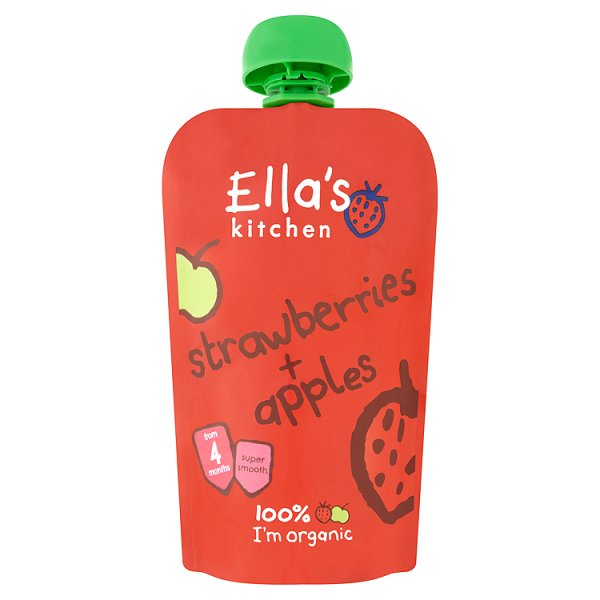 ELLASKIT ORG STRAWBERRY/APPLE 4M