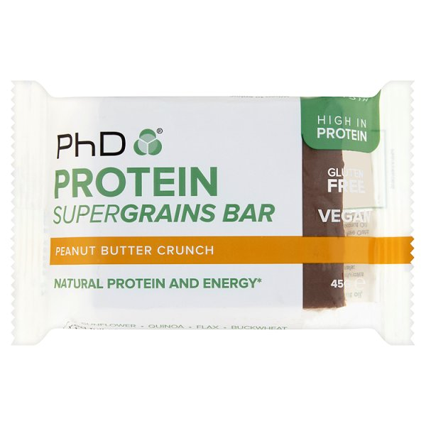 PROTEIN SUPERGRAINS BAR PEANUT BUTTER  *