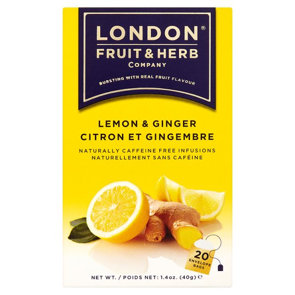 LONDON 366 & HERBAL LEMON & GINGER (58G)