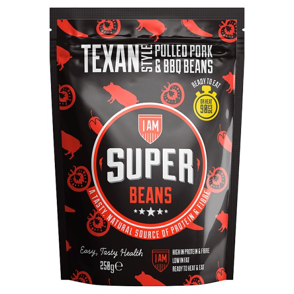 IAM TEXAN PULLED PORK BEANS