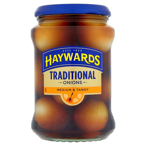 HAYWARDS MEDIUM & TANGY 588 ONIONS