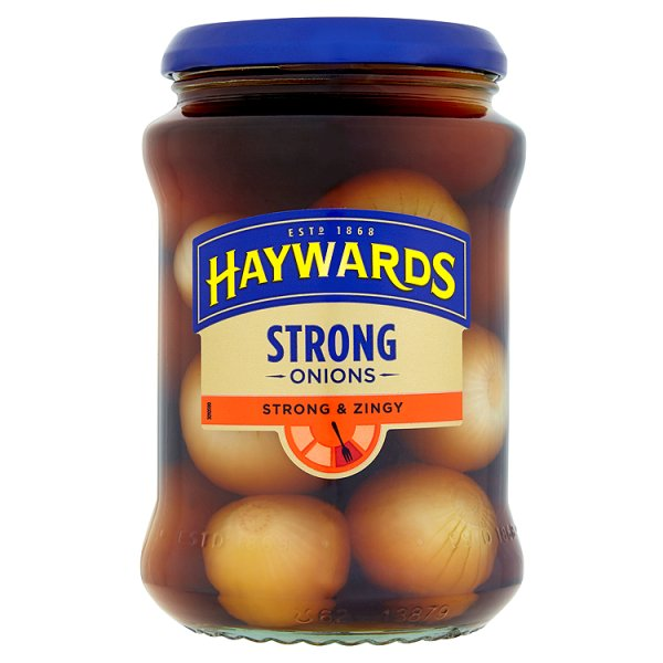 HAYWARDS STRONG & ZINGY 588 ONIONS