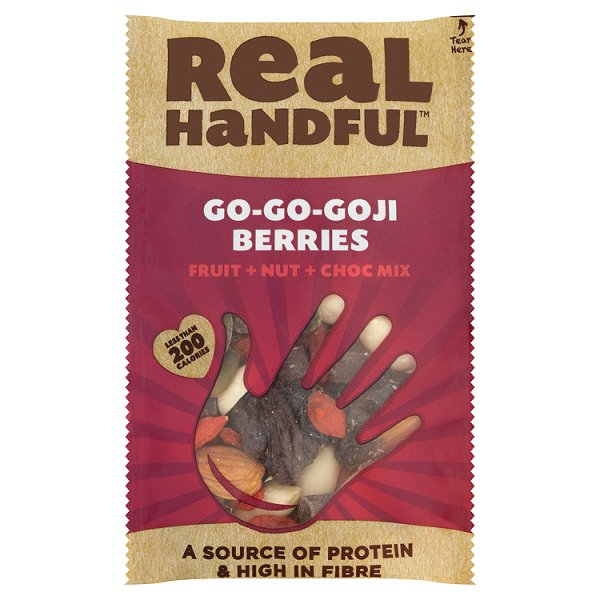 REAL HANDFUL GO-GO-GOJI BERRIES