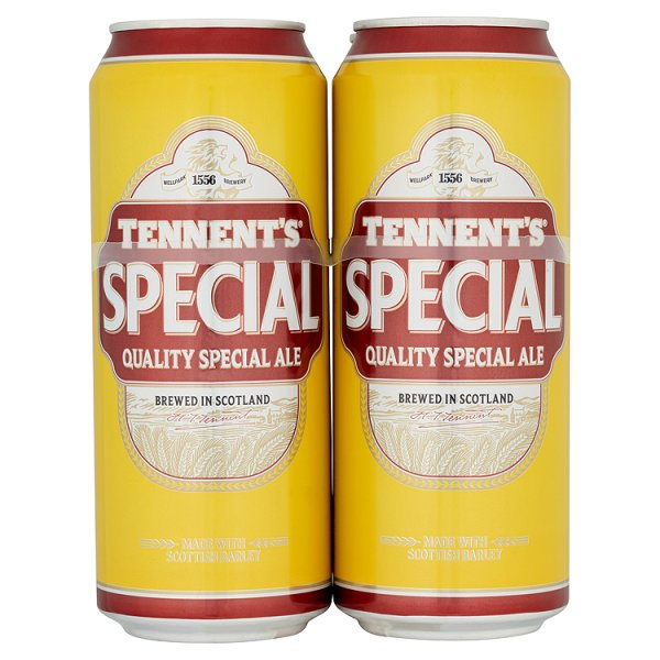 TENNENTS SPECIAL 4PK CAN 3.5%