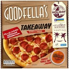 G/FELLAS TAKEAWAY PEPPERONI/SWT CHILLI DIP