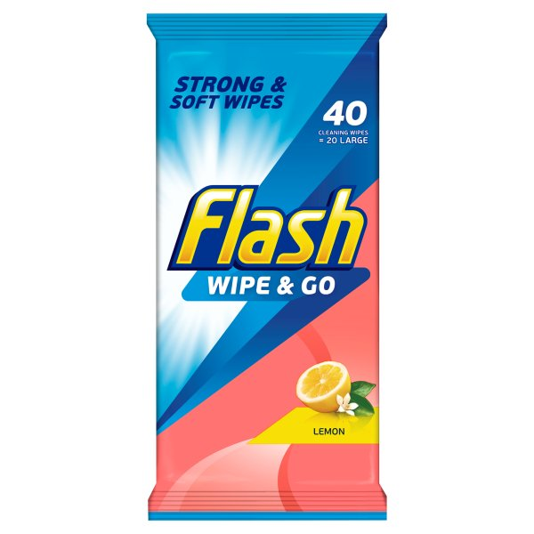 FLASH WIPE N GO LEMON PM ï¾£1.00