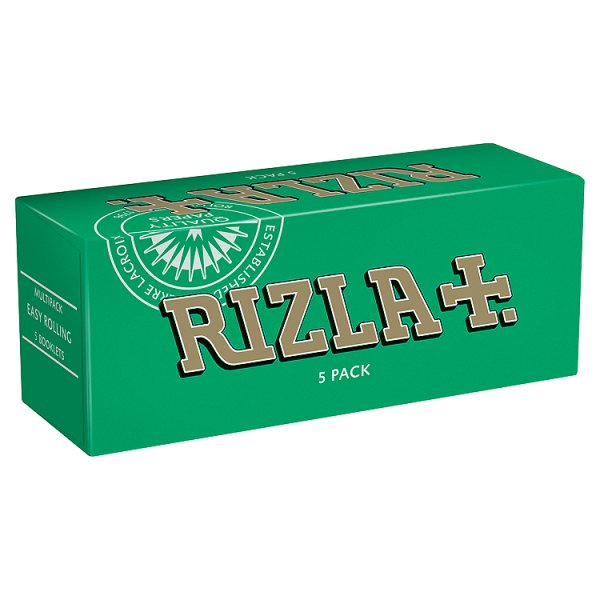 RIZLA PAPERS GREEN M/PK *