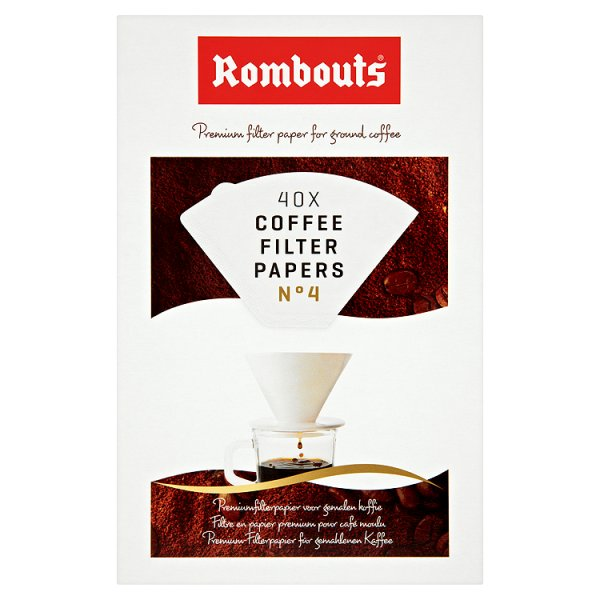 ROMBOUTS COFFE FILTER PAPER N4