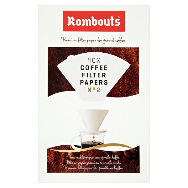 ROMBOUTS COFFEE FILTER PAPER N2