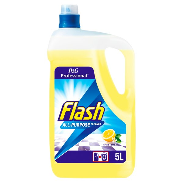 FLASH A/PURP CLEANER LEMON