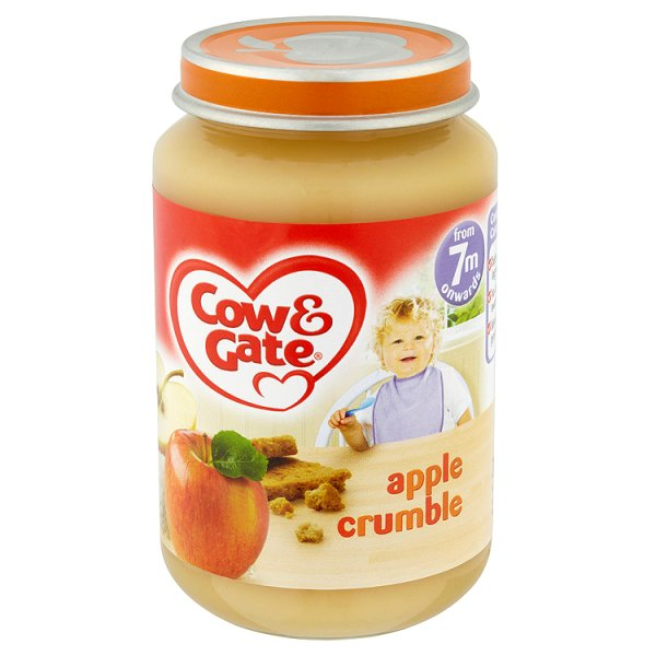 COW&GATE BABY BALANCE APPLE CRUMBLE 6MONTHS
