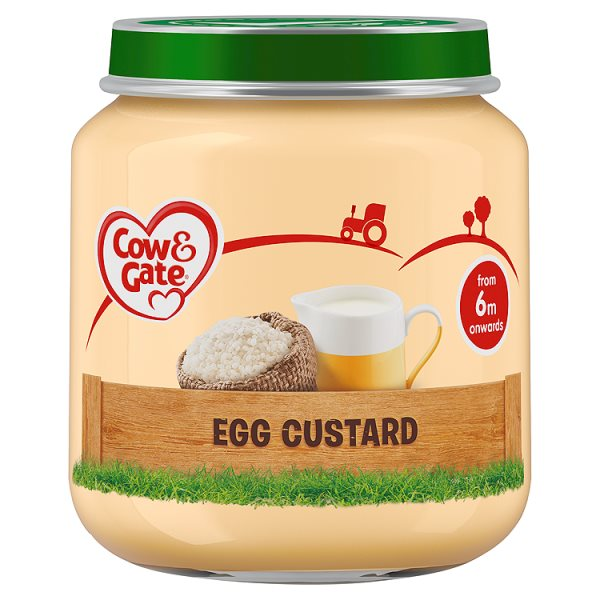 COW&GATE EGG CUSTARD 4M