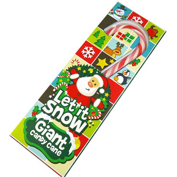LET SNOW GIANT CANDY CANES