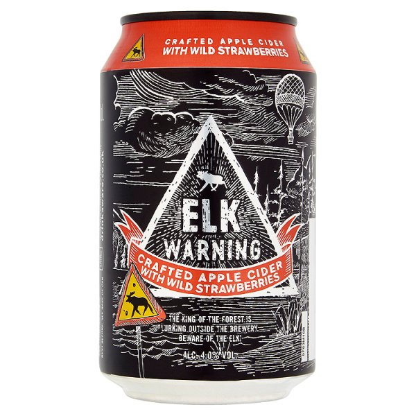 ELK WARNING STRAWBERRY