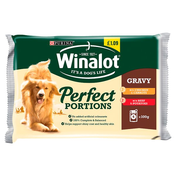 WINALOT CHICKEN & BEEF IN GRAVY PM ï¾£1.09