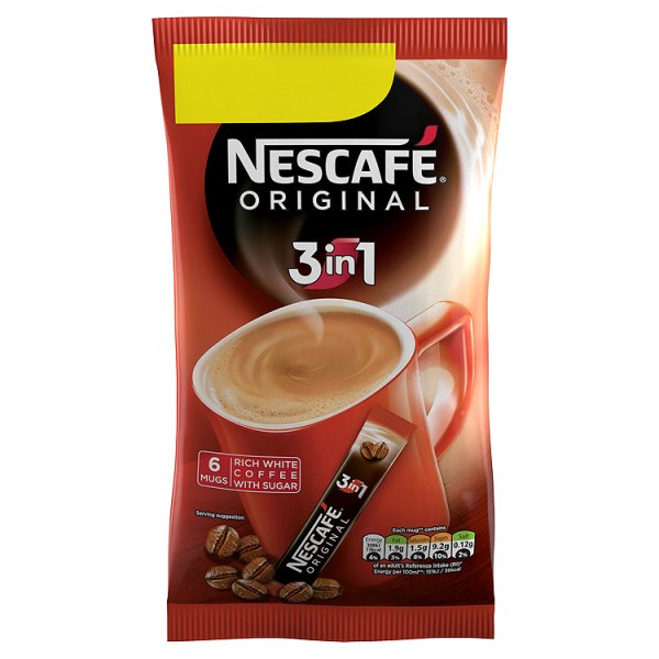 NESCAFE ORIGINAL 3IN1 6PK PMï¾£1