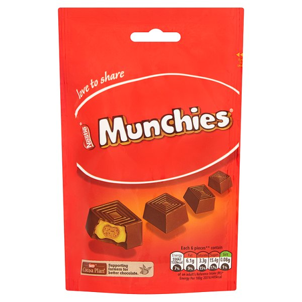 NESTLE MUNCHIES SHARING POUCH