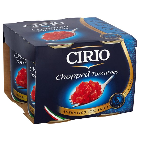 CIRIO CHOPPED TOMATOES 4PK