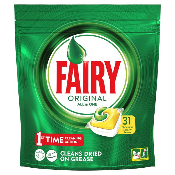 FAIRY ALLIN1 LEMON 31PK