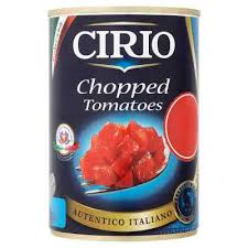 CIRIO CHOPPED TOMATOES PMï¾£1