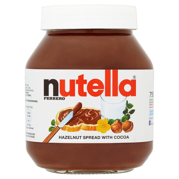 NUTELLA HAZLENUT CHOCOLATE SPREAD