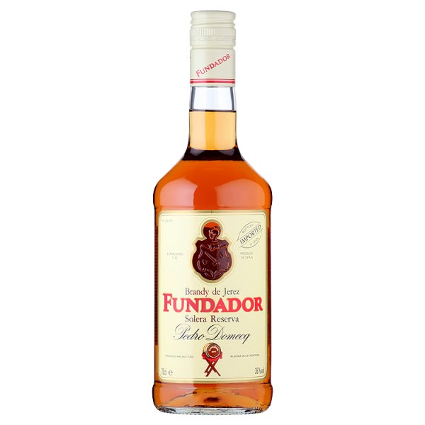 FUNDADOR SPANISH BRANDY 36% DST