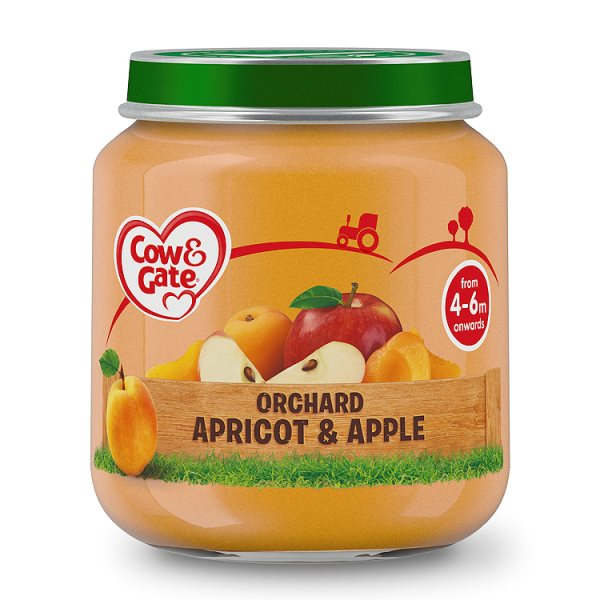 COW&GATE ORCHARD APRICOT + APPLE 4M