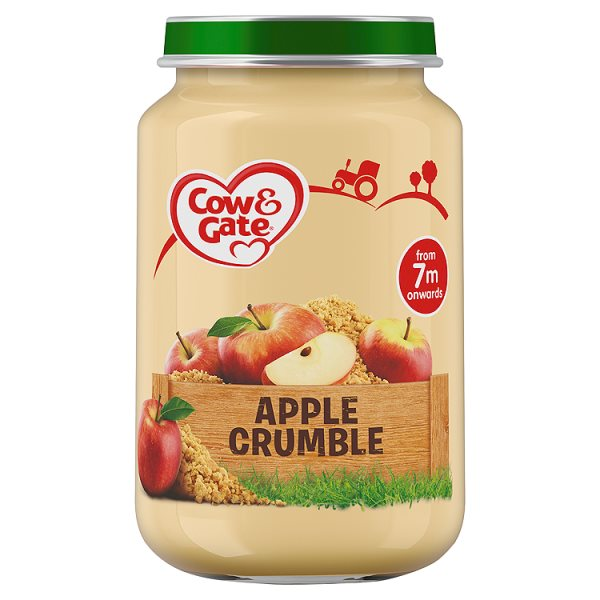 COW&GATE APPLE CRUMBLE 7M