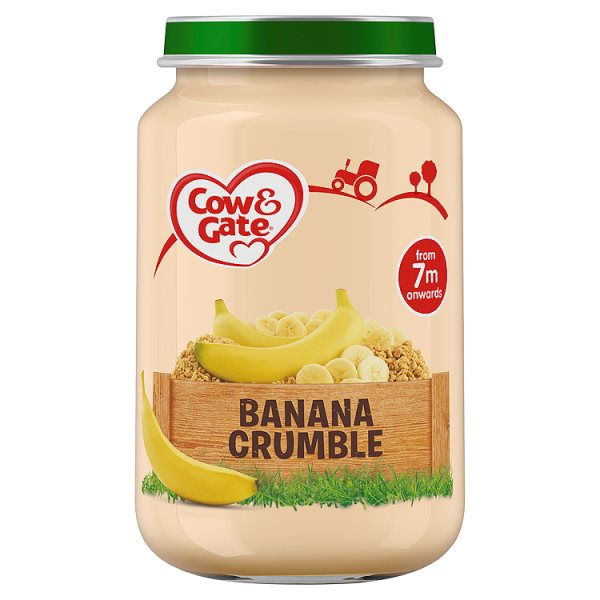 COW&GATE BANANA CRUMBLE 7M