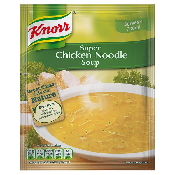 KNORR CHICKEN NOODLE PACKET SOUP