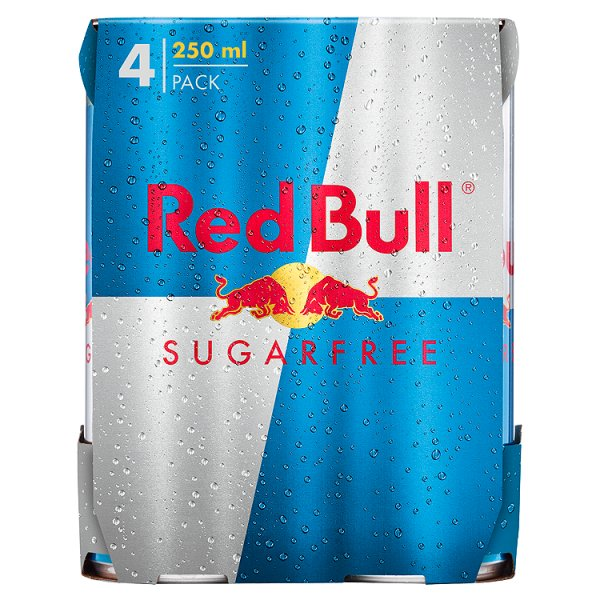 RED BULL SUGARFREE 4PK