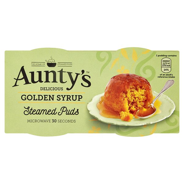 AUNTYS GOLDEN SYRUP PUDDING