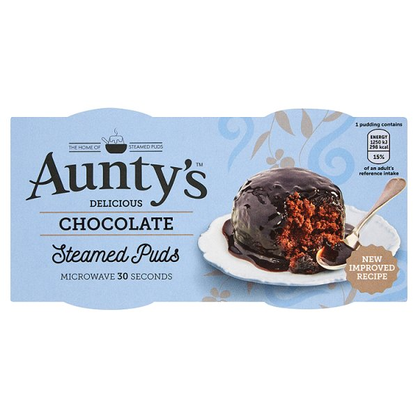 AUNTYS CHOCOLATE FUDGE PUDDING