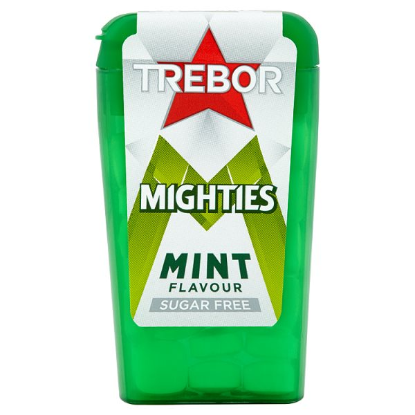 TREBOR MIGHTIES SUGAR FREE MINTS*