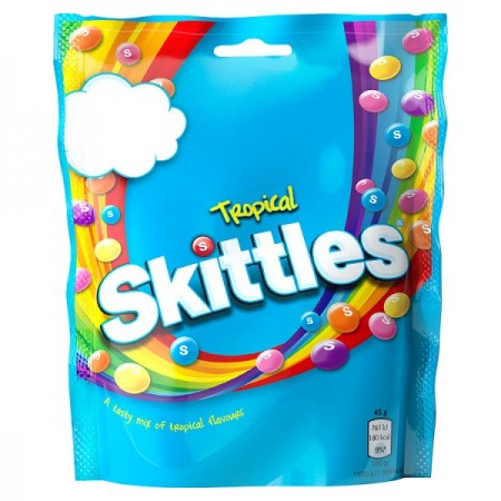 SKITTLES TROPICAL BAG
